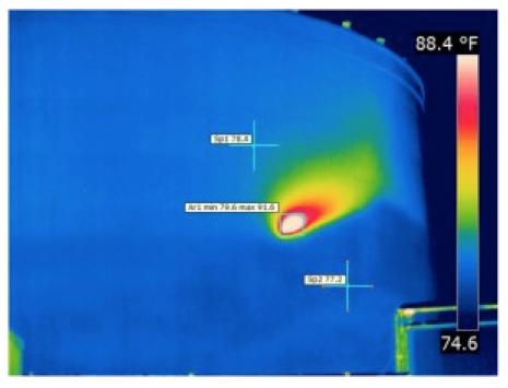 Storage Tank - Thermal Image Chronograph