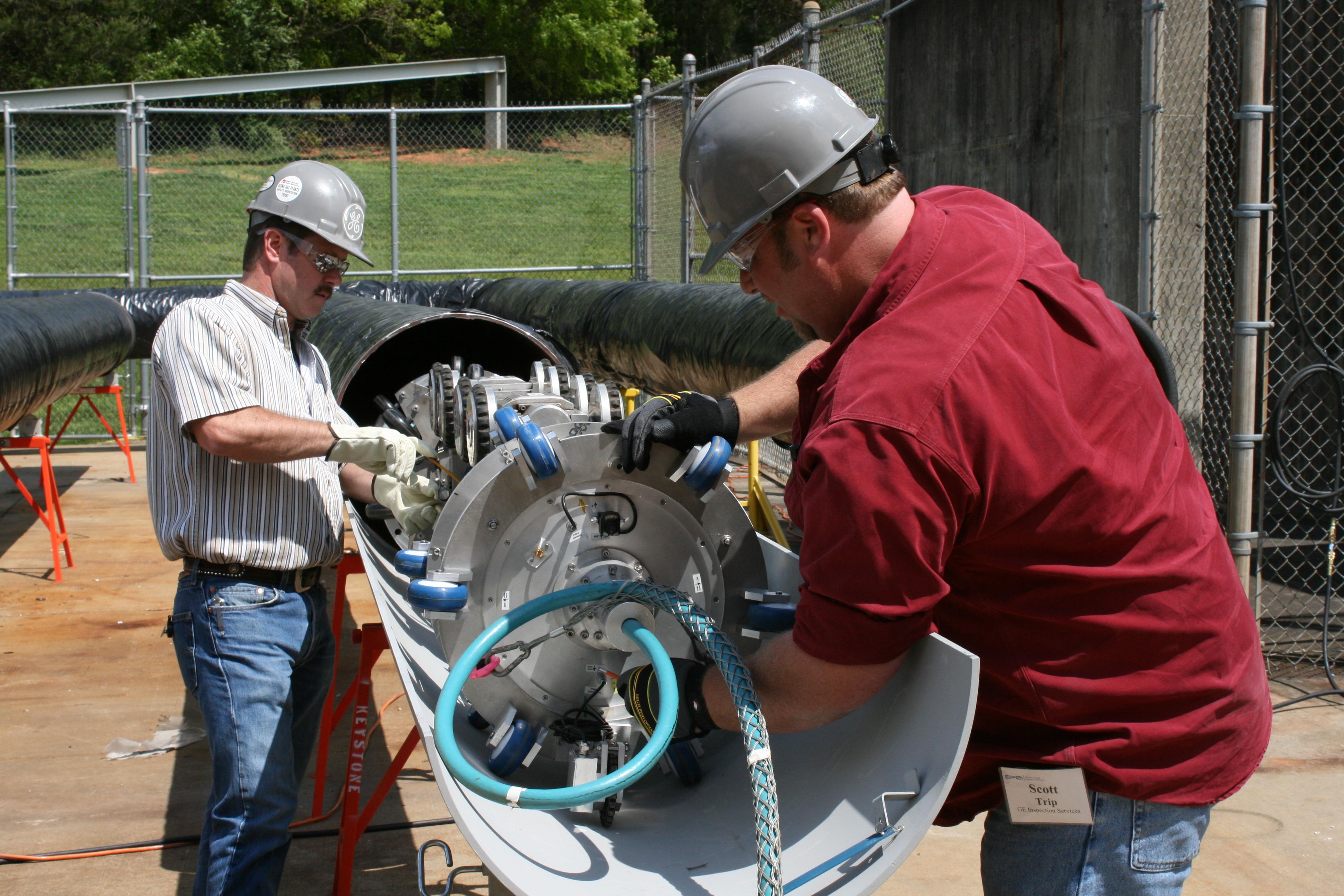 Internal Robotic Inspection Tool for Unpiggable Pipe Inspections