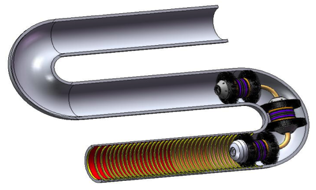 Inspection of Individual Serpentine Coils in Fired Heaters Connected to Common Headers