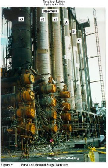 Figure 1 – Tosco Avon Refinery Incident
