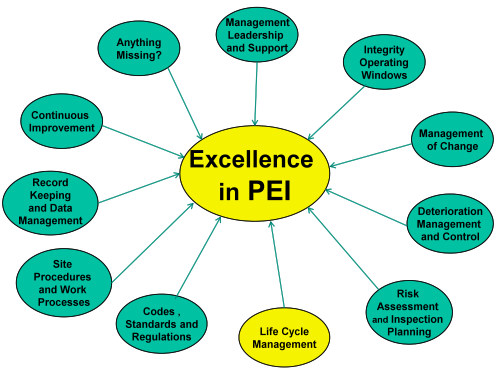 The Role of Life Cycle Management in Achieving Excellence in Pressure Equipment Integrity and Reliability
