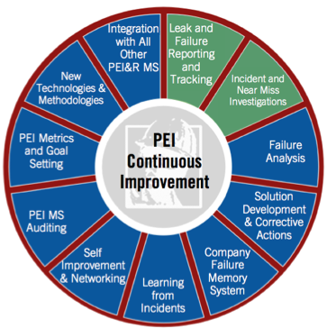 Figure 2: Continuous Improvement for PEI&R